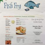 SNBC hosts fish fry, 10-5, May 21